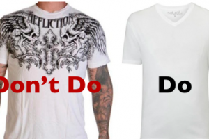 The Easiest Way to Become More Dynamic: Stop Dressing Like an Idiot!